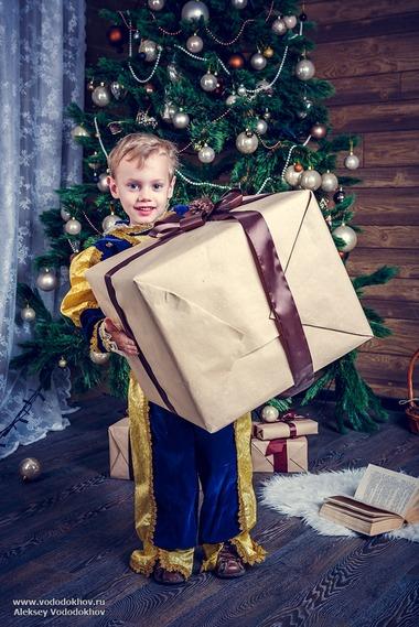 Большой подарок, Дети