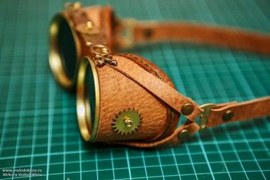 Гоглы , Самоделки, craft, cosplay, cosplayer, hand_made , handmade, steampunk, steampunkgirl, vododkhov