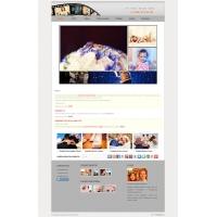 Сайт для фотографа Ирины