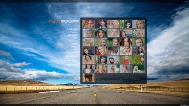 Сайт для фотографа V3